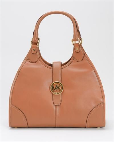"""Brand Name: Michael Kors    Item Type: Handbags    Item: Shoulder bag    Made In: Imported    Gender: Women    Condition: Brand New    Material: Leather    Dimensions: 14.5"""" L x 11.5"""" H x 5.5"""" D    Shoulder Drop: 8""""    Genuine leather  Flap closure  Logo detail on front  Double handles  Interior ..."""