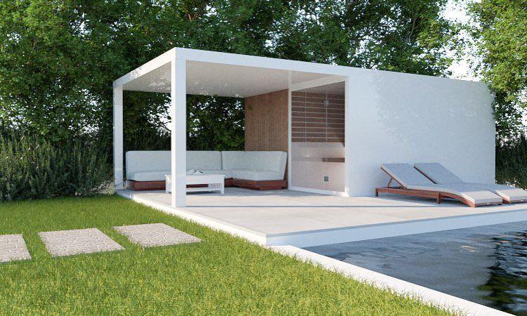 Photo of utendørs badstue – Thermalux: utendørs badstue | badstue