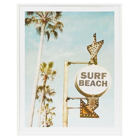 Surf Beach Wall Art 85x114cm #thefreedomsale # ...