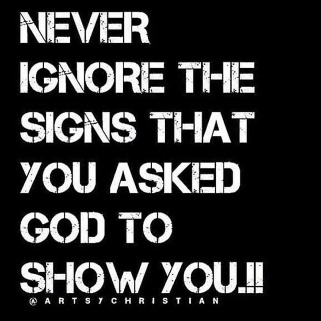 Never ignore the signs | Motivations II | Wisdom quotes