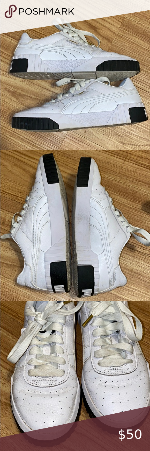 Old School Puma Shoes. Worn Twice. Perfect condition