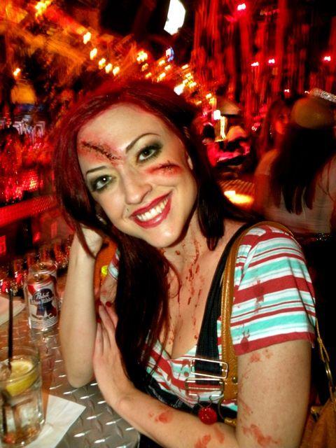 chucky makeup | halloween | Pinterest | Chucky makeup, Scary ...
