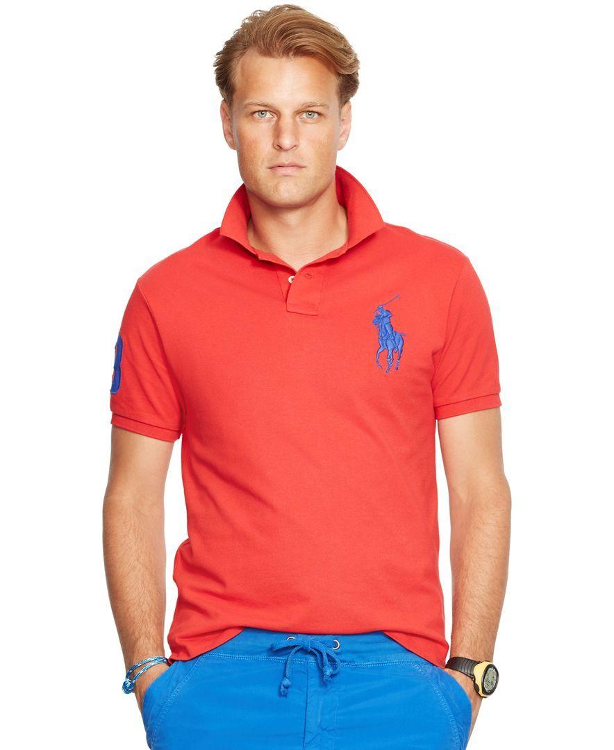 a764284c1b36 Cheap Ralph Lauren Classic Fit Polo Shirts