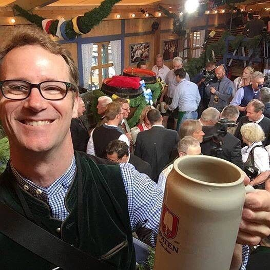 #HappyBirthday to Oktoberfest Brisbane's Official Beer Ambassador Matt Kirkegaard who we are sure is having an amazing Birthday as he is over at Oktoberfest (Munich) covering the event for us. From all the Oktoberfest Brisbane family alles Gute zum Geburtstag! We will see you in a couple of weeks when you are back for Oktoberfest Brisbane 2016!