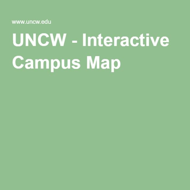 UNCW - Interactive Campus Map | The Crossing, Dorms at UNCW ... Uncw Interactive Campus Map on uncw campus life, uncw campus map printable, uncw bookstore,