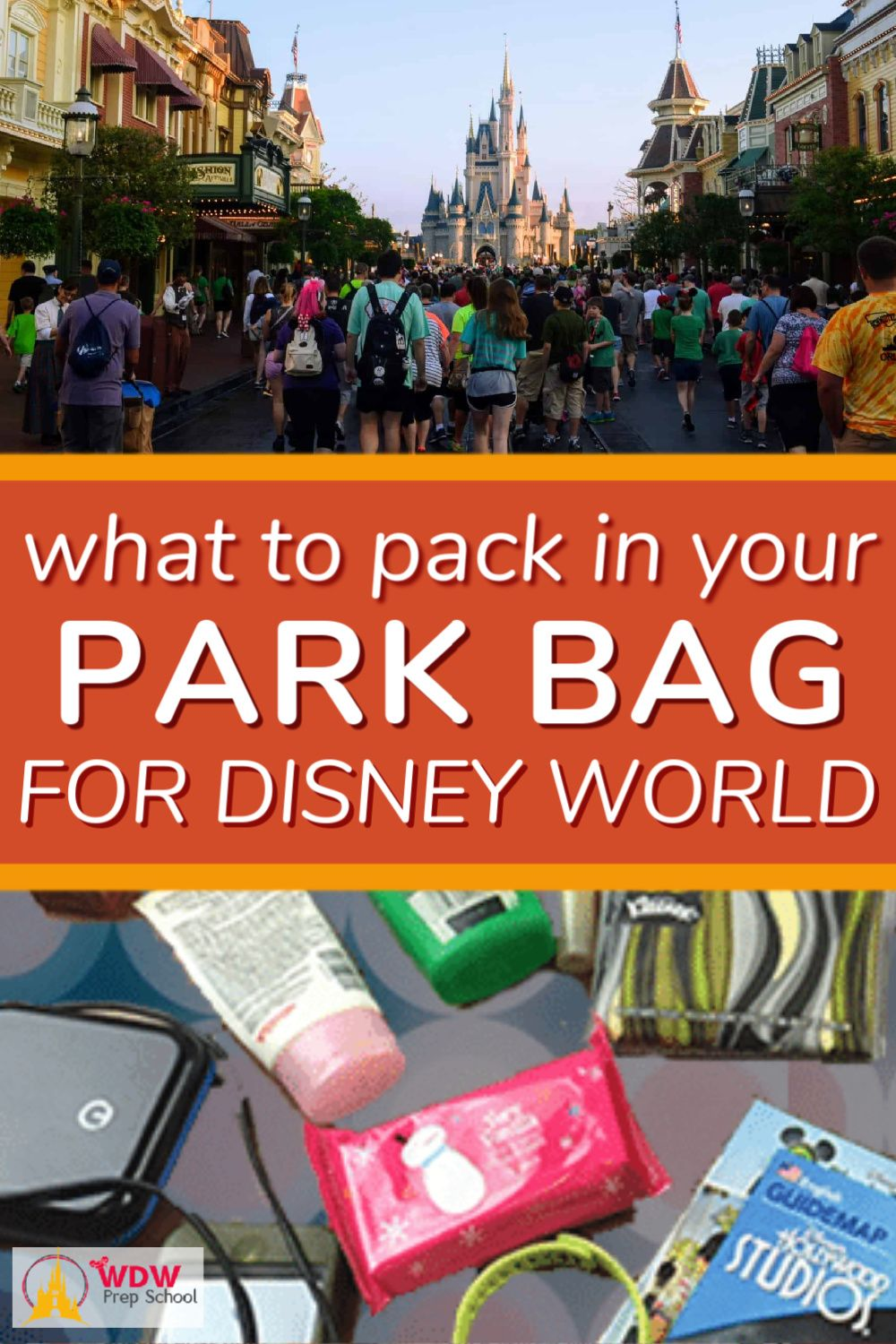 What to pack in your Disney World park bag (no minimalists