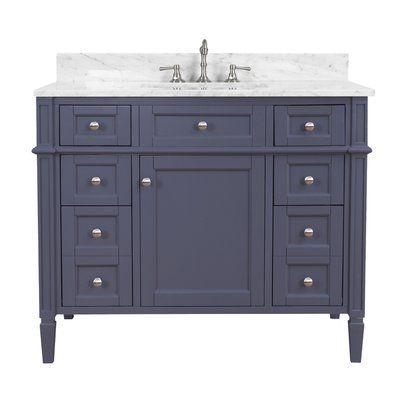 Kitchen Bath Collection Hailey 42 Single Bathroom Vanity Set In