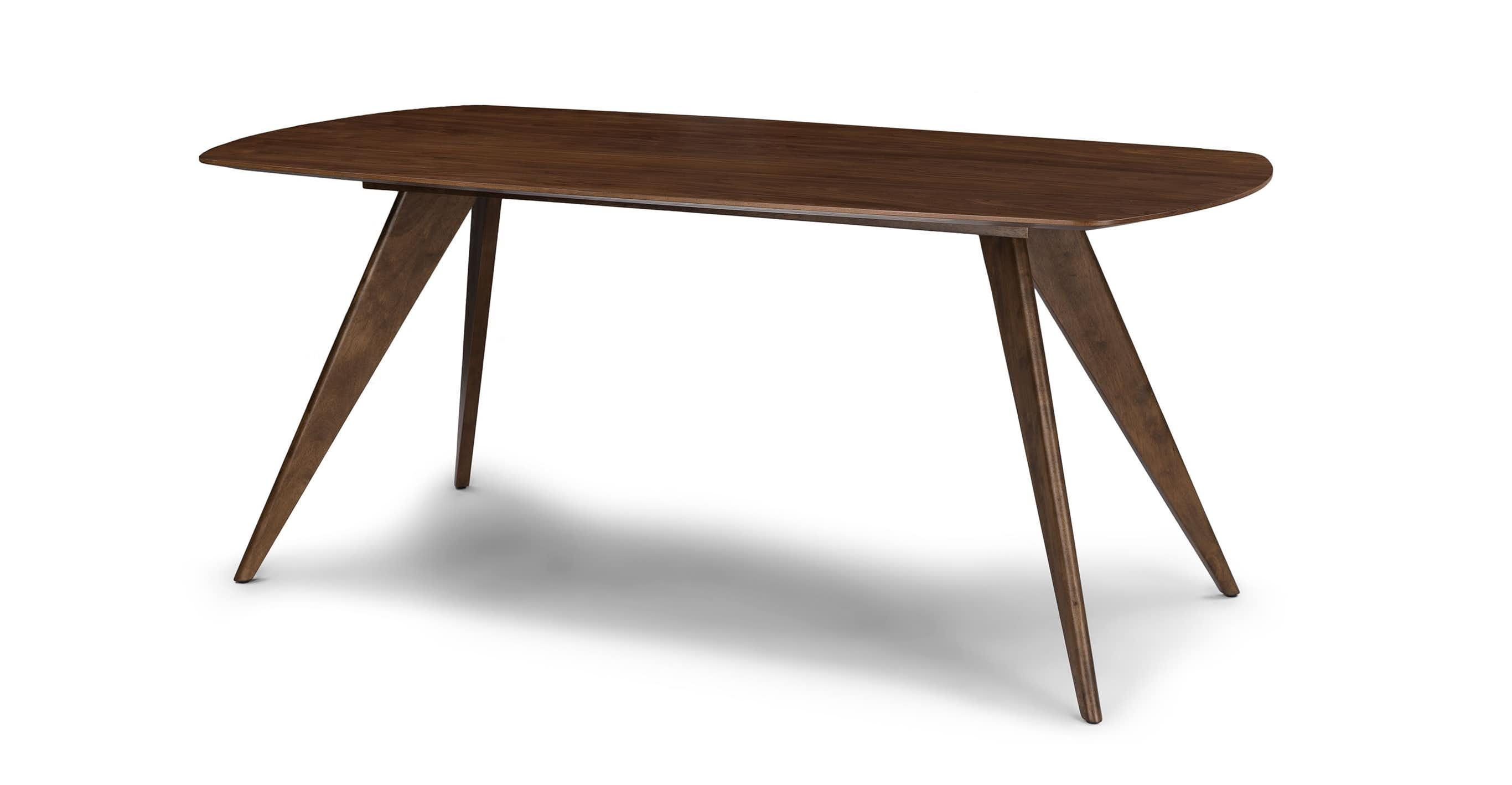 Simple Elegance This Mid Century Style Dining Table Is Finished