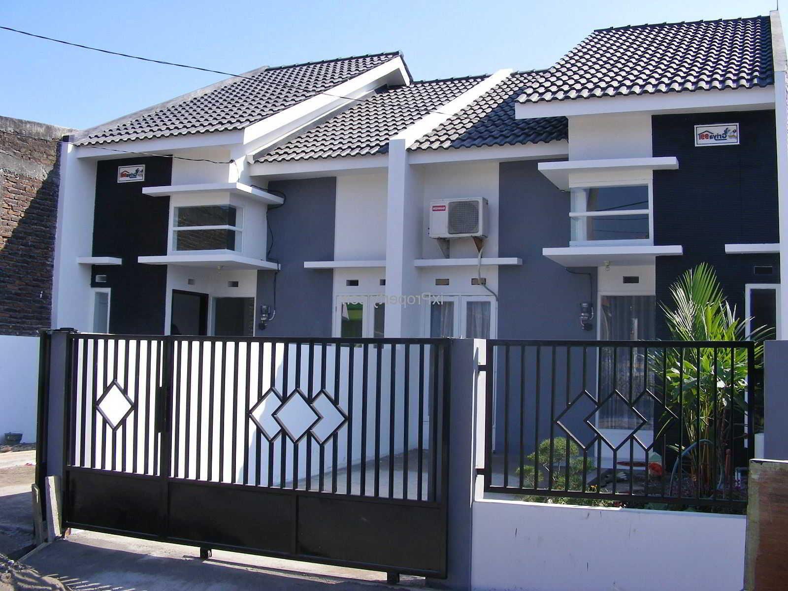 60 Desain Pintu Pagar Rumah Minimalis Modern Ideas Fence Design Gate Design House Fence Design