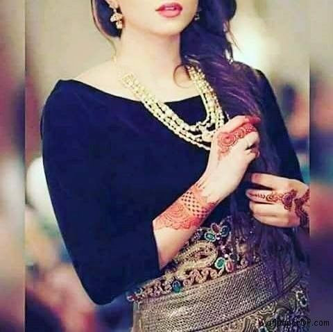 Image for Pretty and Cute without Face Girl Dp for Facebook | Zzz in 2019 | Jewelry, Bridal ...