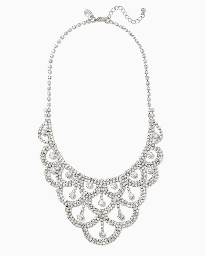 charming charlie Daphne Bib Necklace UPC 400000160900