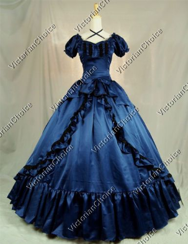 Victorian-Southern-Belle-Period-Dress-Ball-Gown-Reenactment-Theatre-Wear -206-M acc46d8ca487