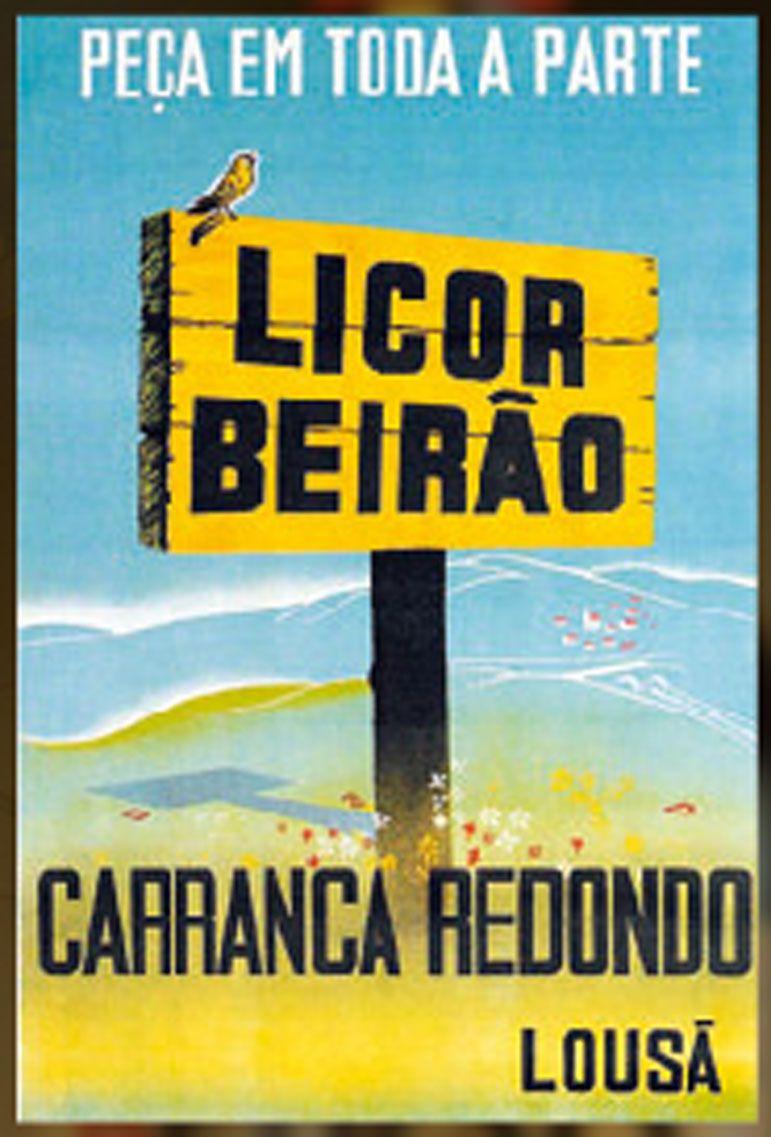 licor beirão vintage ad....my fave drink <3