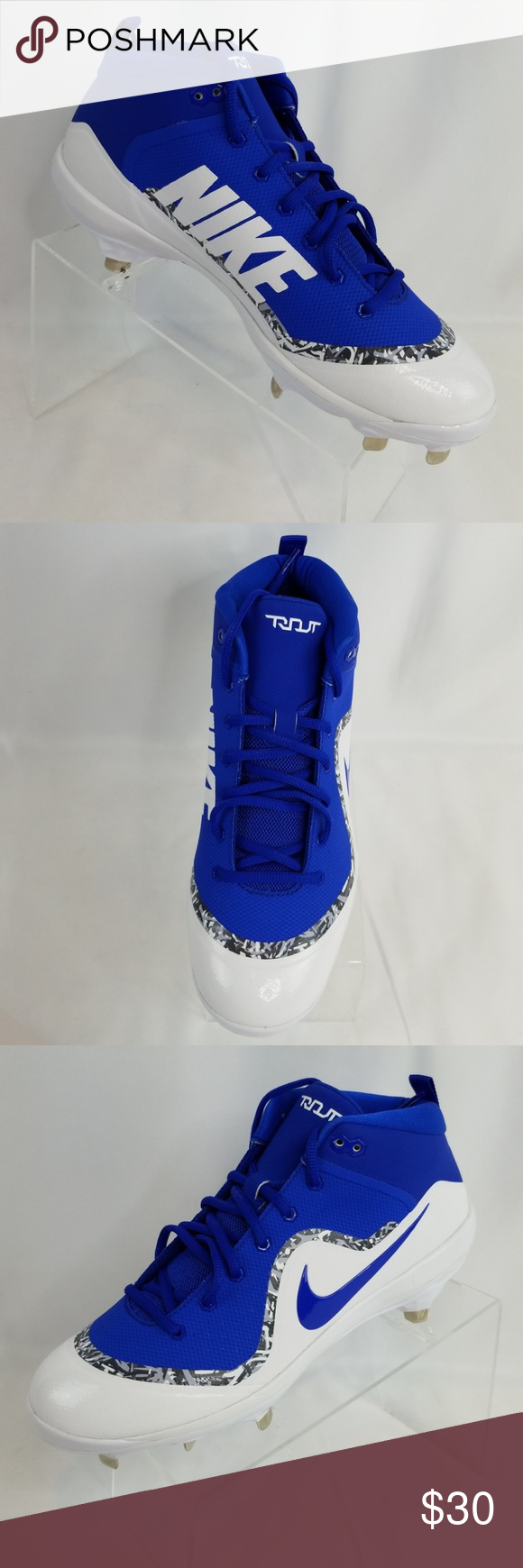 f746ff604fd Nike Force Air Trout 4 Pro Sz 10 Baseball Cleats Nike Force Air Trout 4 Pro  Mens Size 10 Baseball and Softball Cleats. NEW in box. 917920-444 Nike  Shoes ...