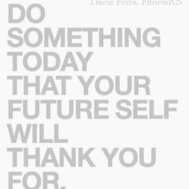 Start today.