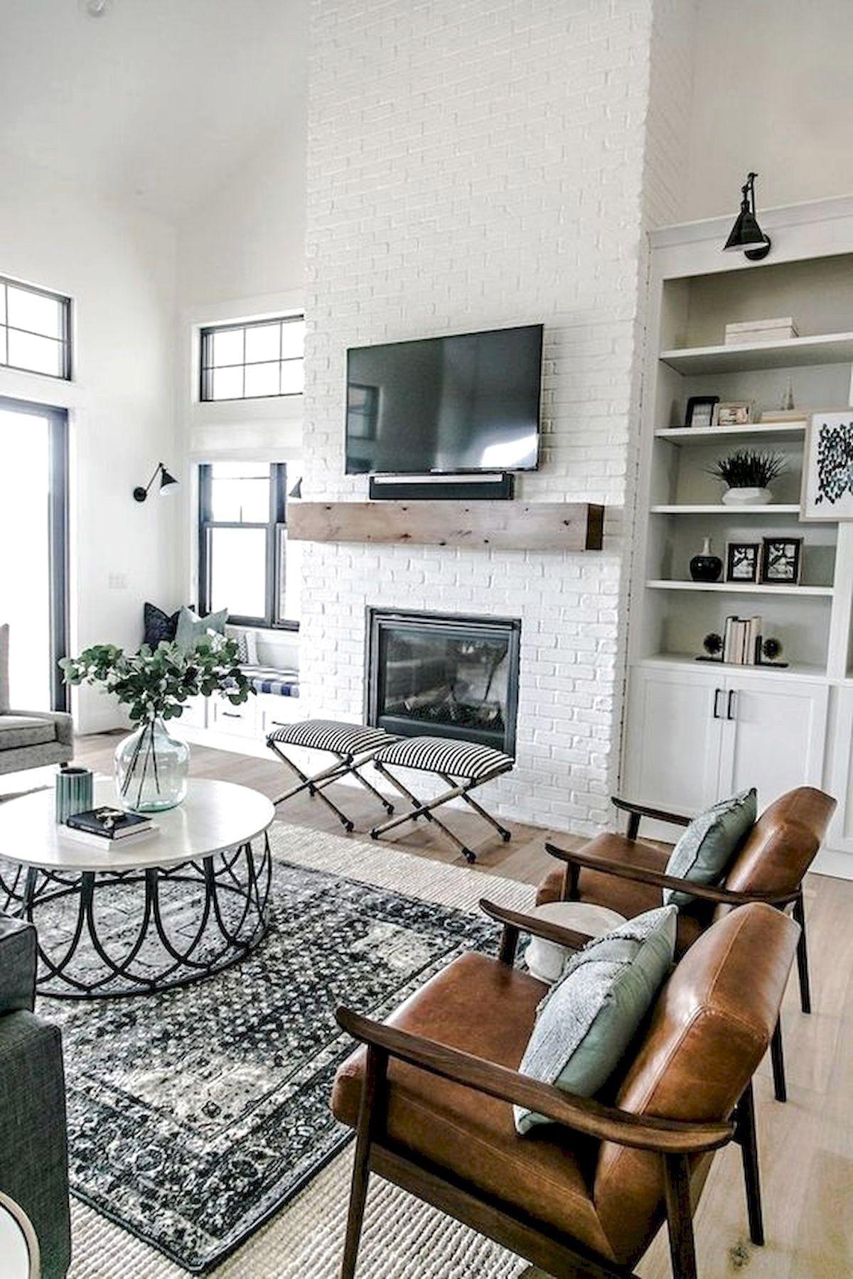 101 Best Farmhouse Living Room Decoration Ideas Farmhouse D