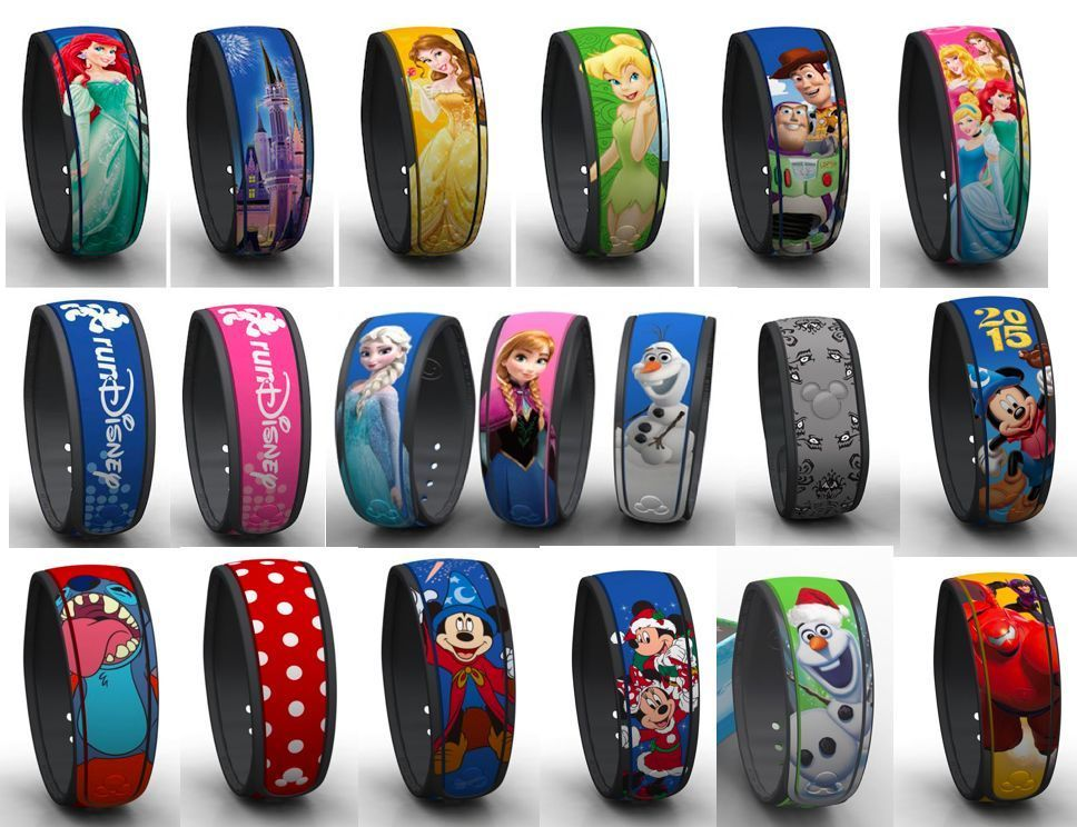 NEW LINK IT LATER Disney Magic Band Anna, Elsa, Mickey ...