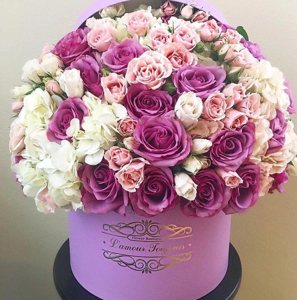 Pin By Liza Dinata On Flower Box 1 Luxury Flowers Flower