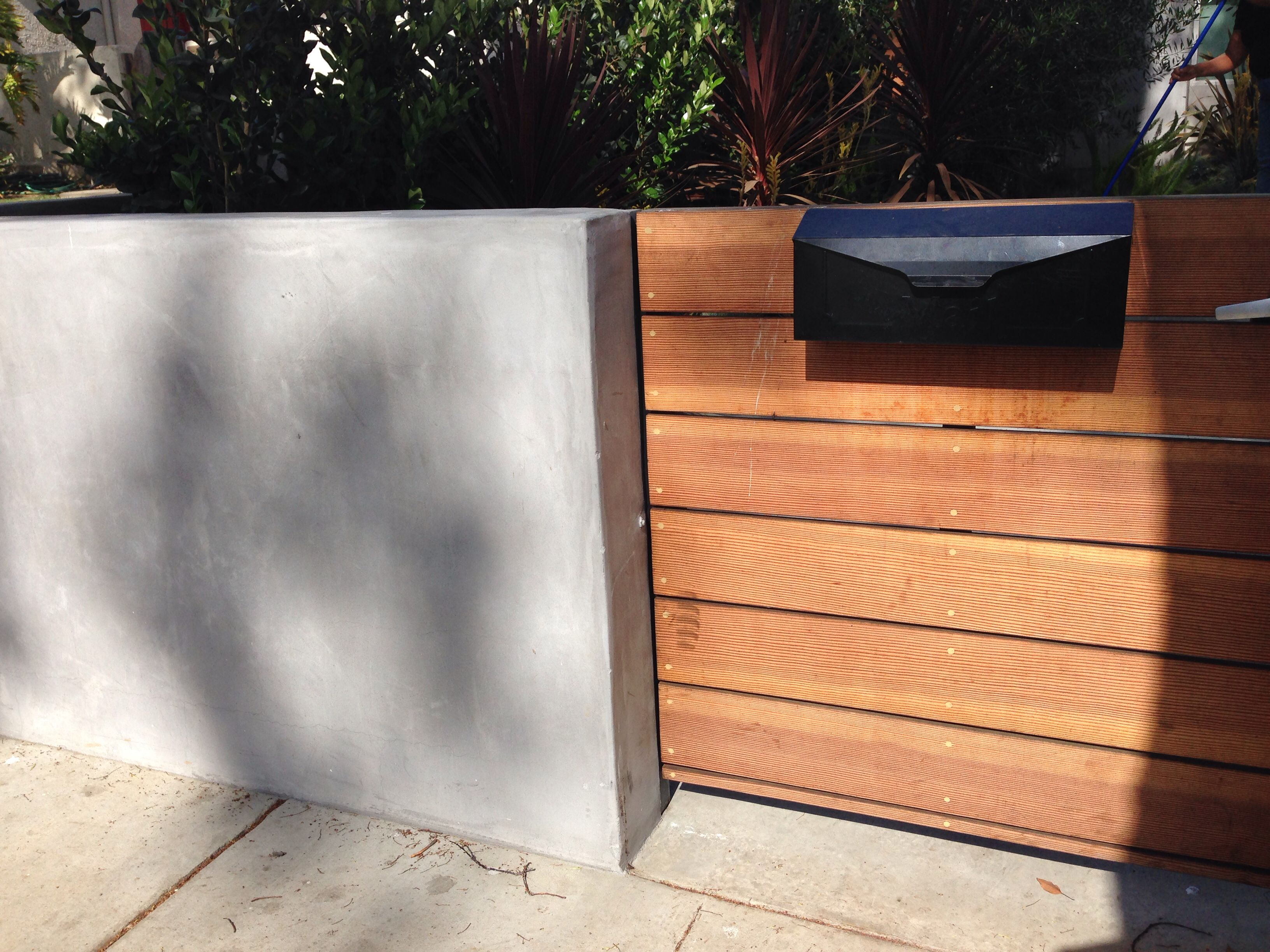 Smooth Stucco Light Gray Stucco Exterior Pacific Palisades Home Remodeling Modern Design