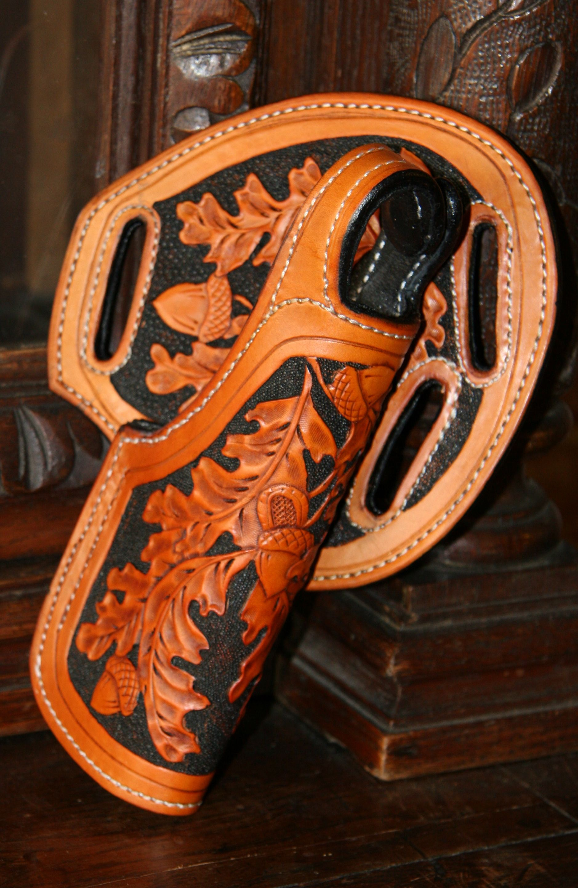 Oak Leaf 1911 Pancake Holster By Annie Margarita See More At Leather