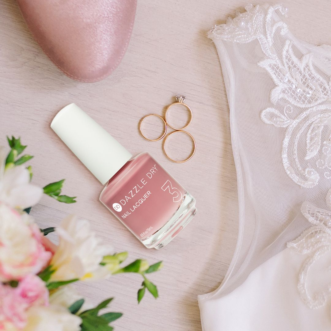 Here Comes The Bride With Some Awesome Nails: Loving This New Shade For Brides-to-be! Less Is Mauve Is