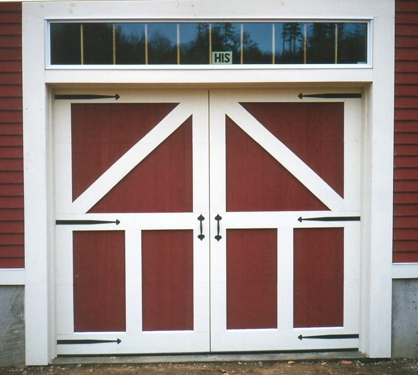 Barn Garage Doors barn door garage door | barn wedding | pinterest | door hinges