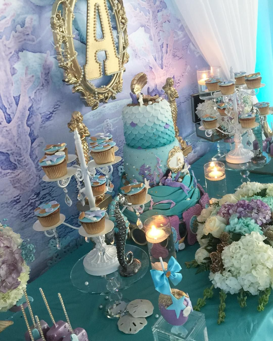 Under the Sea Quinceañera Theme (With images) Mermaid