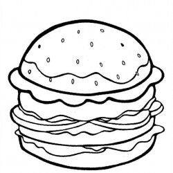 Cheeseburger Coloring Pages Coloring Pages Color Printable Coloring Pages