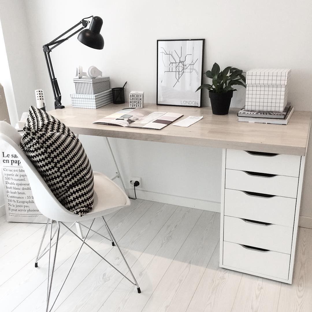 "Photo of Cecilie Instagram on Instagram: ""#boligplussminstil #bobedre #office #office #nordichome #nordicdesign #nordicinspiration #mynordicroom #interior # interiordesign…"""