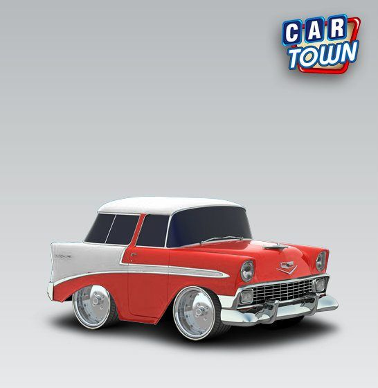 Chevrolet Nomad 1956 Fire By Arnold Dap Of Cars Smallsmall