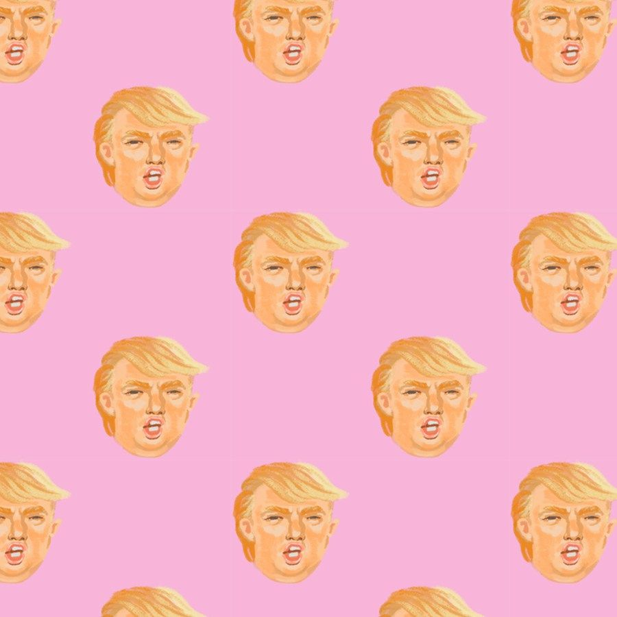 Trump Iphone Wallpaper By Steph Devino Iphone