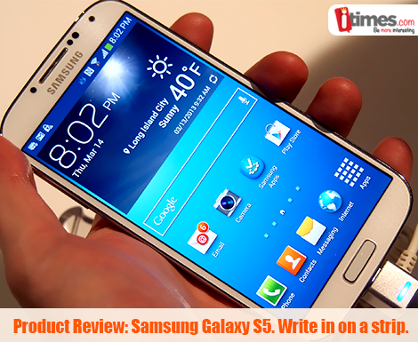 The all awaited Samsung Galaxy S5 is here. Here is the