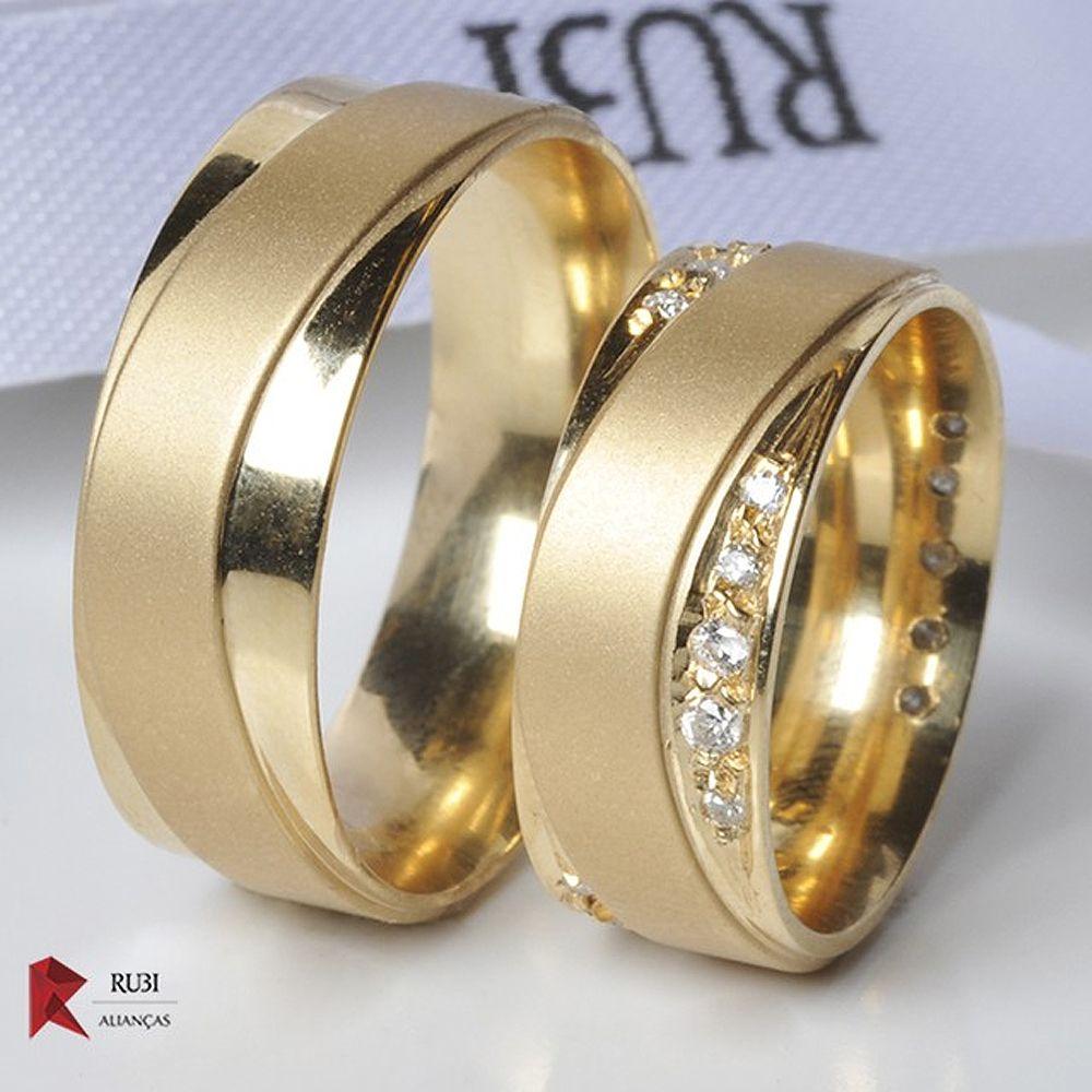 6b514d0ecd5 ALIANÇA 18K NEVILLE DIAMOND - Aliança com diamante