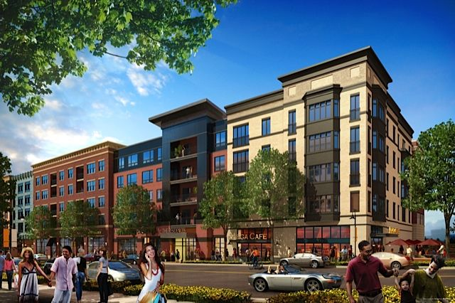 Downtown Crown Apartments Will Be Above Shops And Restaurants Maryland Real Estate Shady Grove Rooftop Terrace
