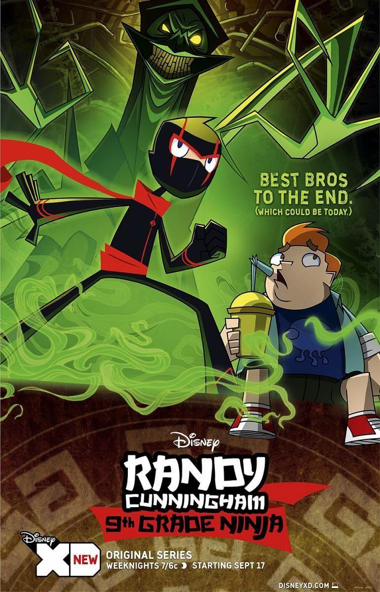 Randy Cunningham 9th Grade Ninja Randy Cunningham Ninja Monstruos