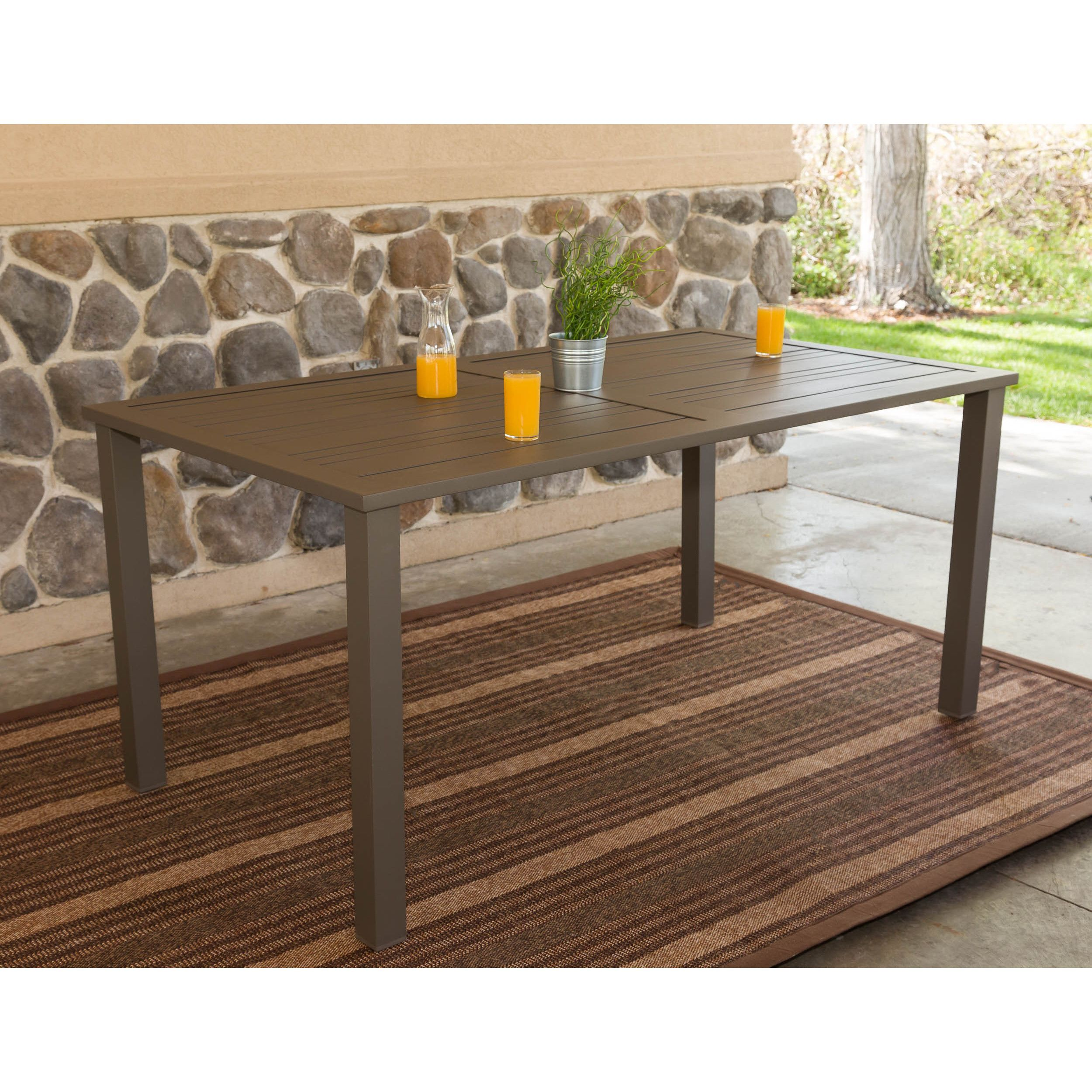 enhance your outdoor dining experience with the modern industrial rh pinterest com