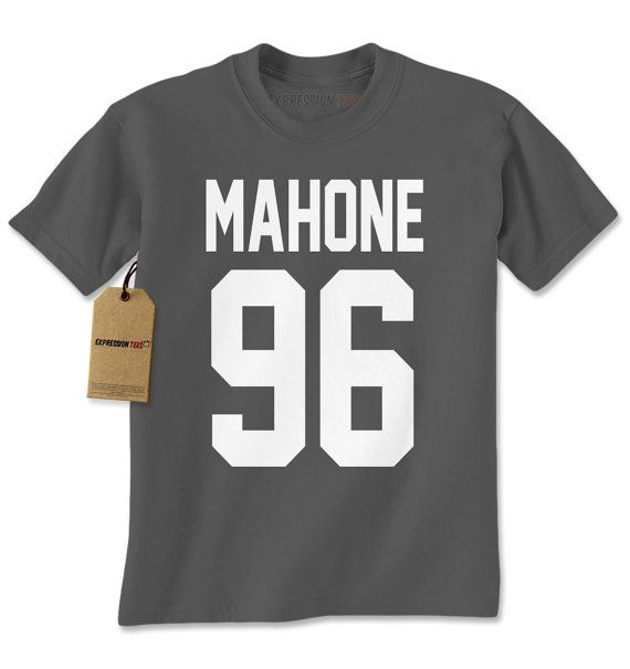 Men S Mahone 96 Shirt Handmade Birth Year Jersey T Shirt 1196 By Expression Tees Trending Clothing Apparel Usa Seller Mens Tshirts Mens T Shirts