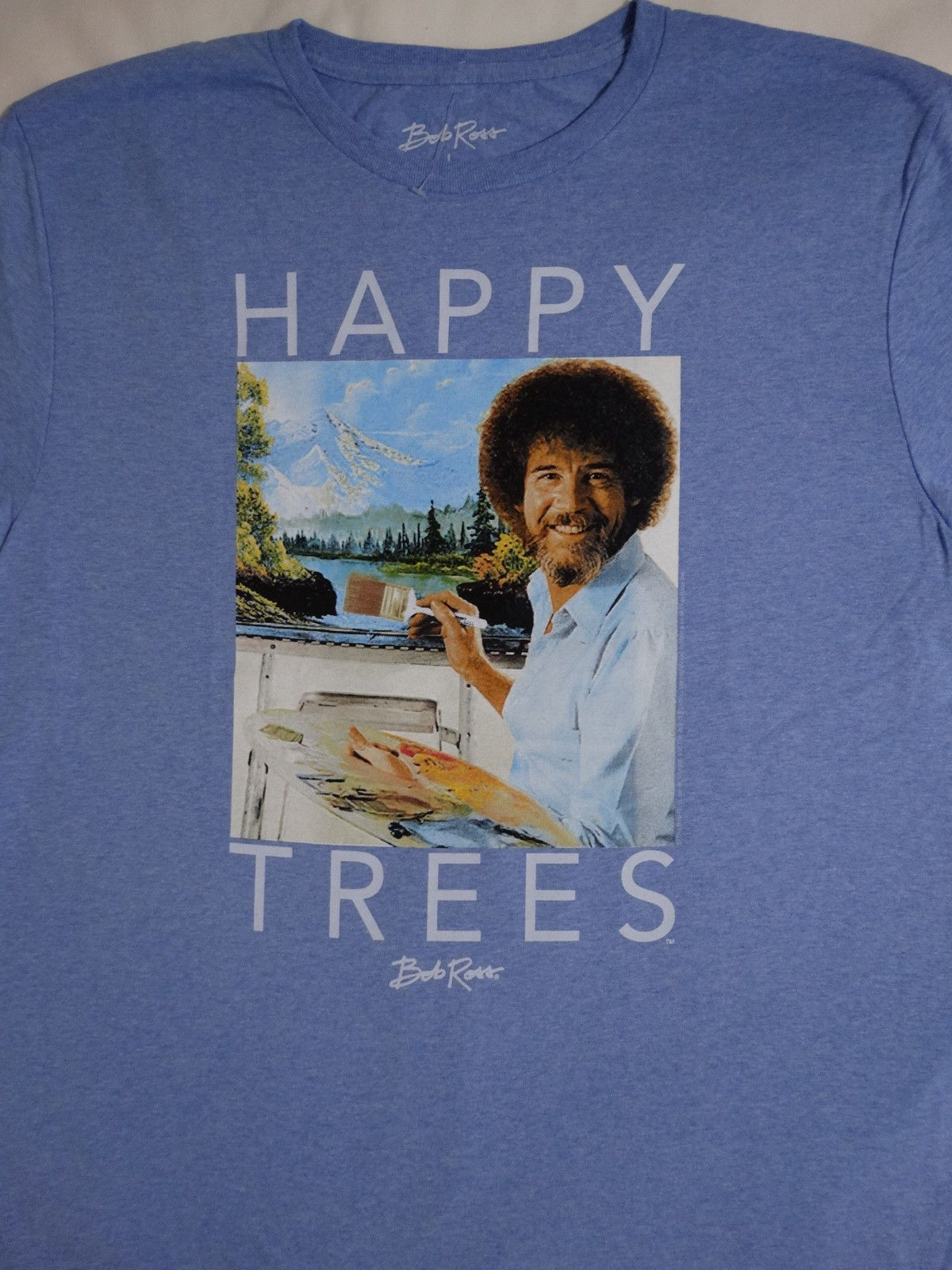 1780c67cc Details about Bob Ross Artist Painting Picture Happy Trees Joy Of ...