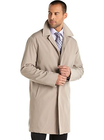 Kenneth Cole Coat, Kennedy Big and Tall Raincoat - Mens Big & Tall ...