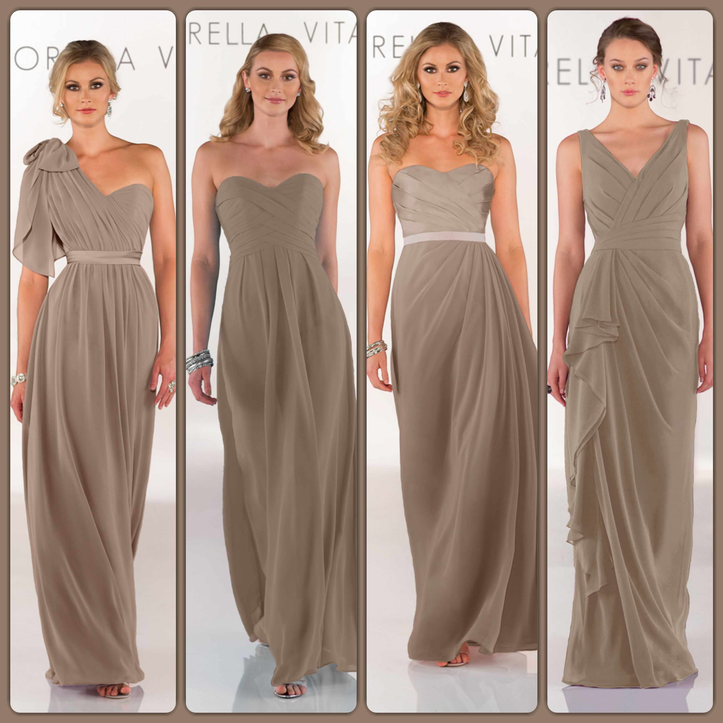 Sorella vita bridesmaid dresses in cinnamon bridalgallerysf bridesmaid dresses gallery sorella vita ombrellifo Images