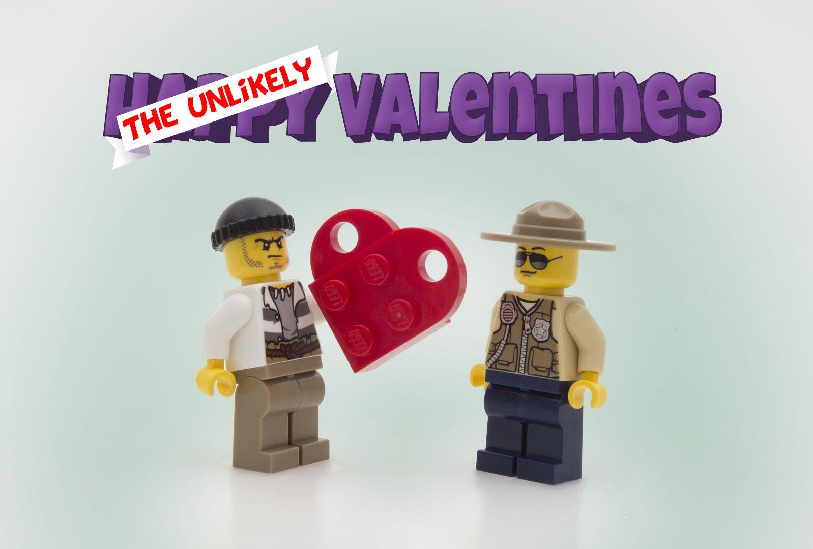 Share an u0027Unlikelyu0027 LEGO Valentine this year