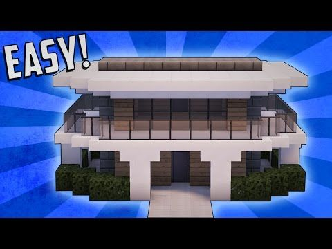 Minecraft: How To Build A Small Modern House Tutorial (#9