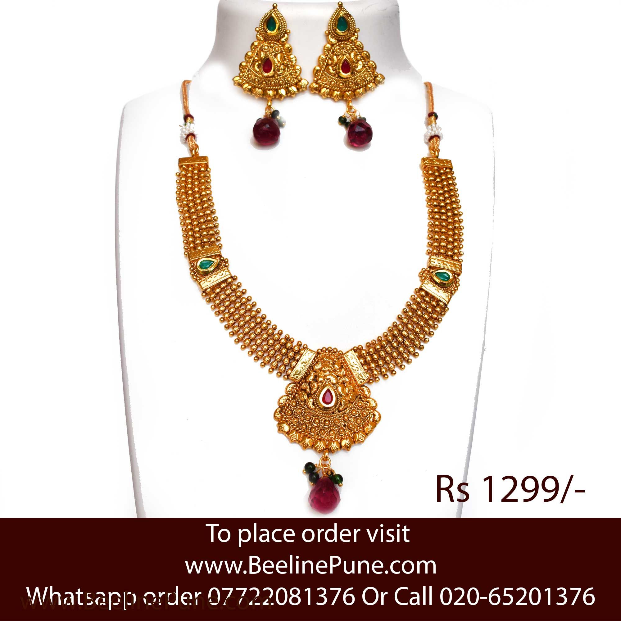 fashion cheap at out indian com wide india design and weddings jewelry artificial of a online for check necklaces sdjewelz range costume jewellery