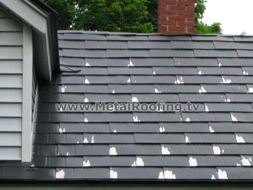 Metal Roofing Shingles Bad Paint Job Metal Roof Metal Roof