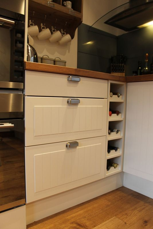 Drawers mean you can pack in more - excellent for storing china.