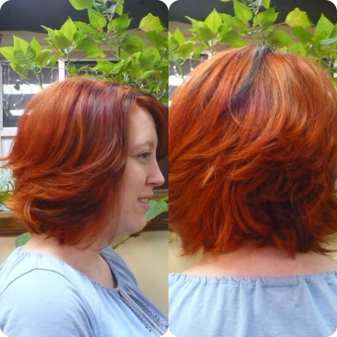 Awesome Red Hair Color Aloxxi Color Personality San Remo Vino