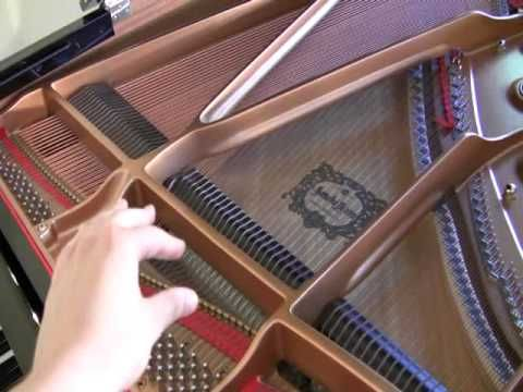 #7 Grand Piano Tutorial; The Piano and how it works.