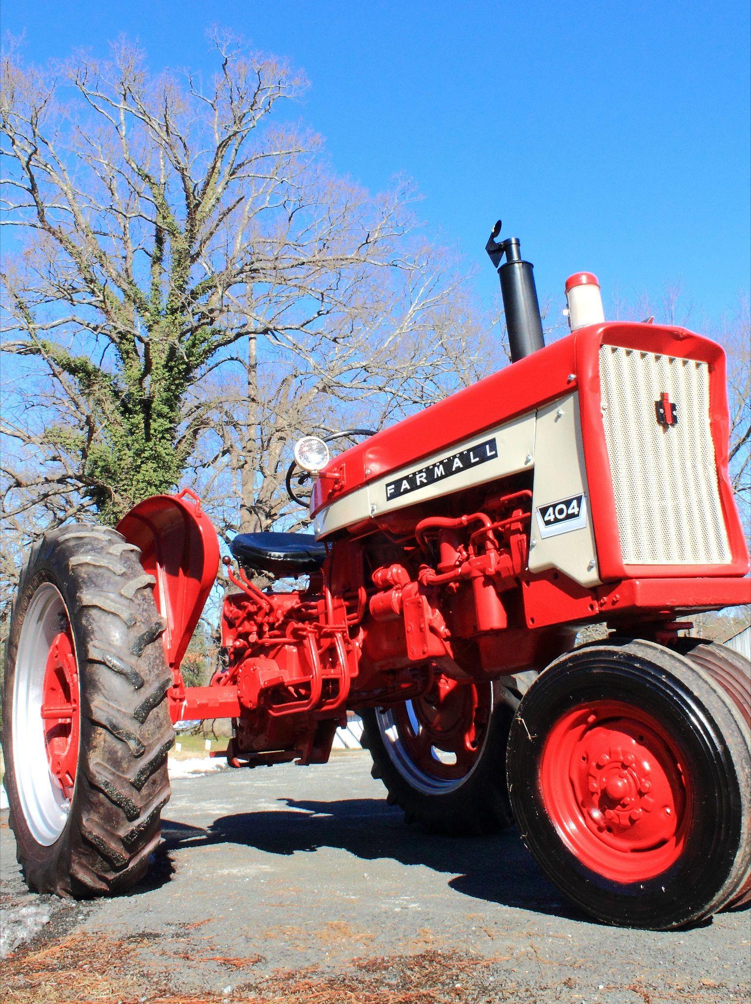 Farmall 404 never seen this farmall farmall tractors