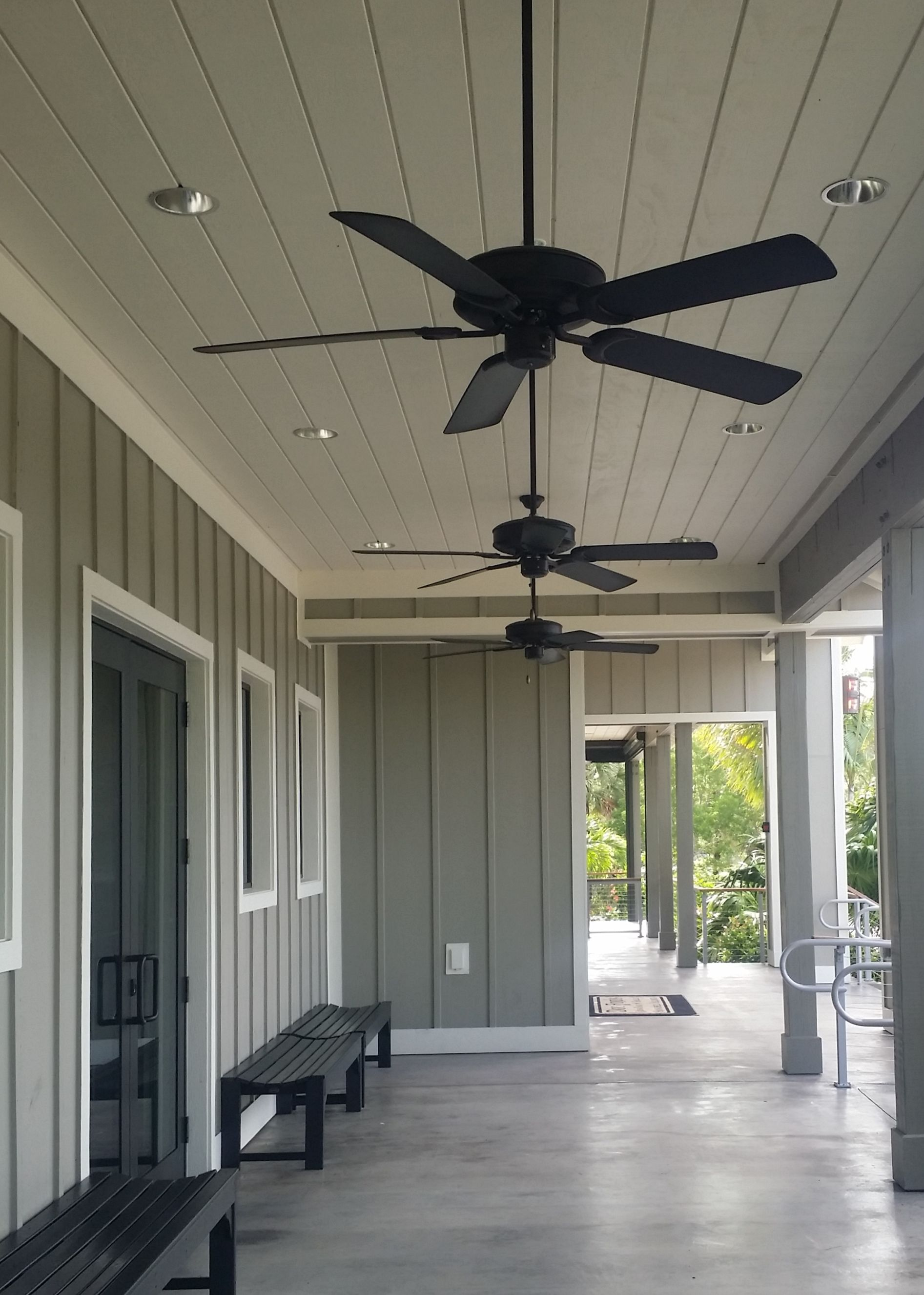 T1 11 Ceiling And Board And Batten Walls Ranch House Exterior