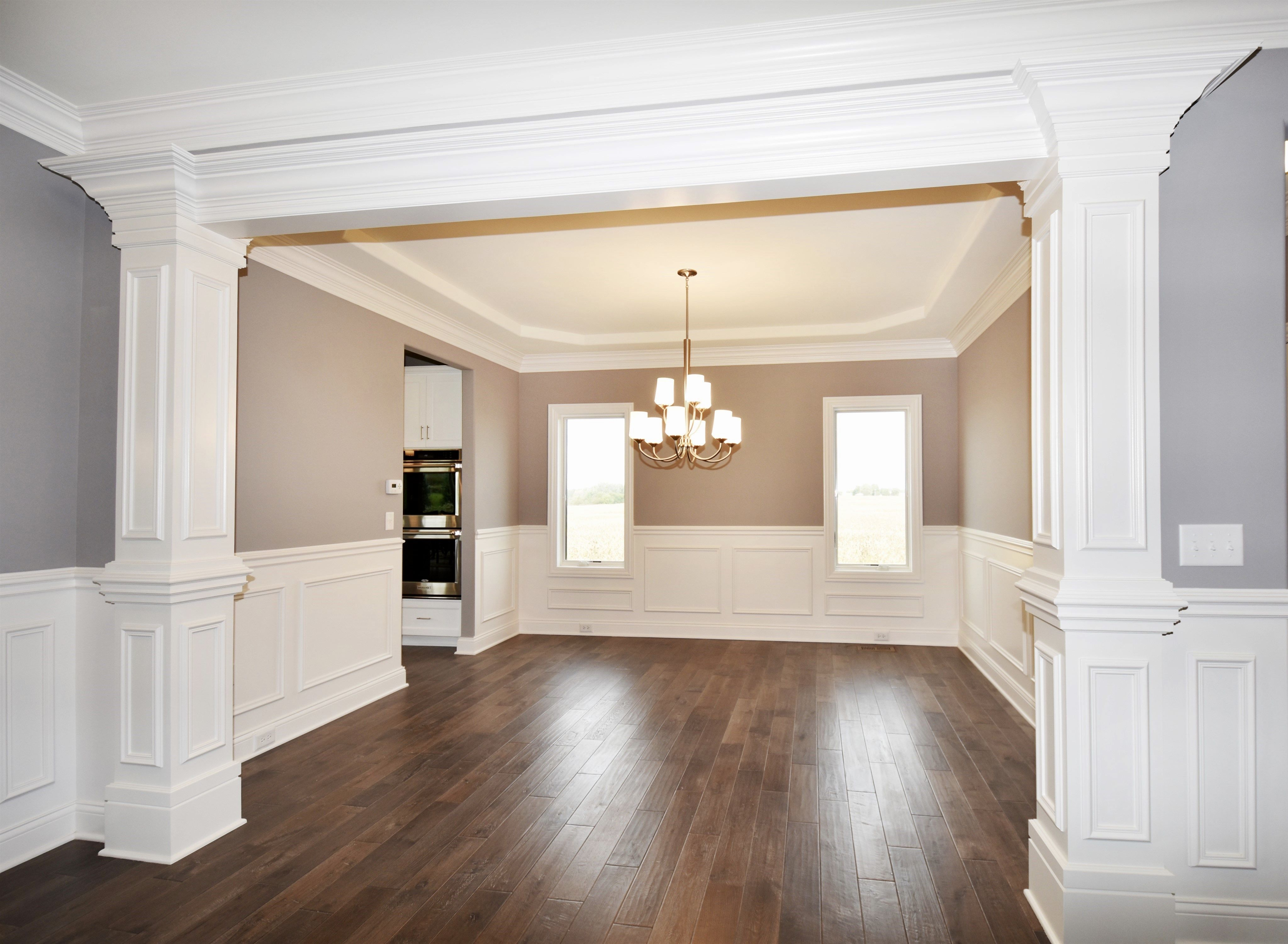 11+ Dining room molding panels ideas in 2021